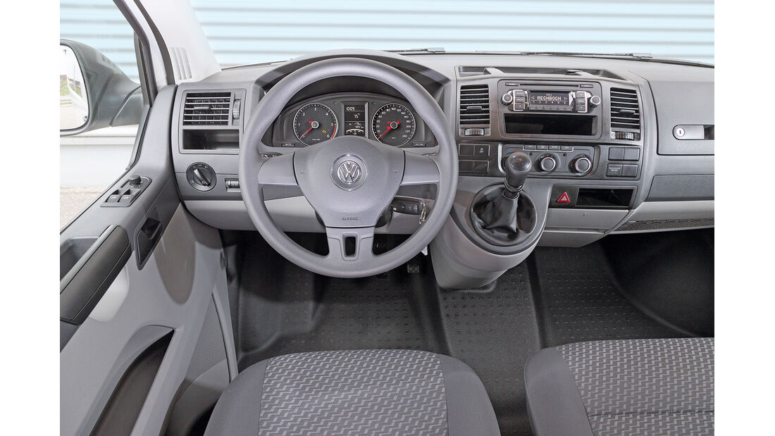 VW Caravelle 2.0 TDI, Cockpit
