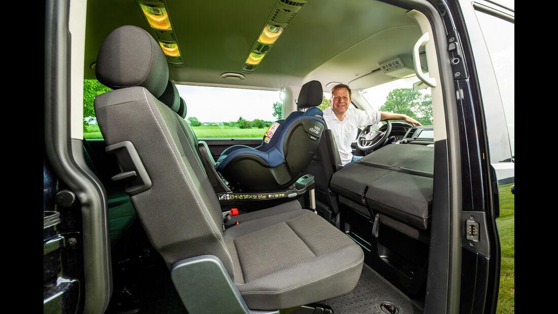 VW Caravelle, Interieur
