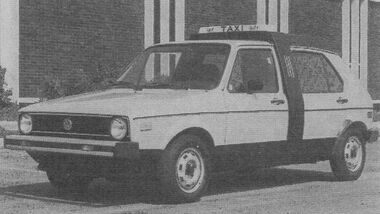 VW Checker Rabbit
