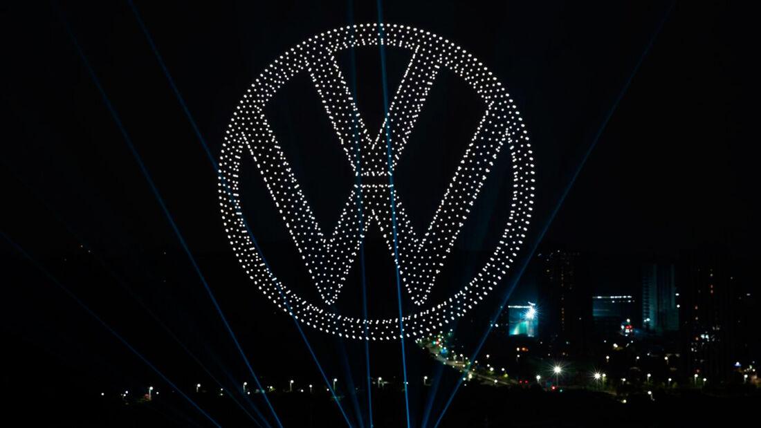 VW China Drohnen ID.4 Shenzhen