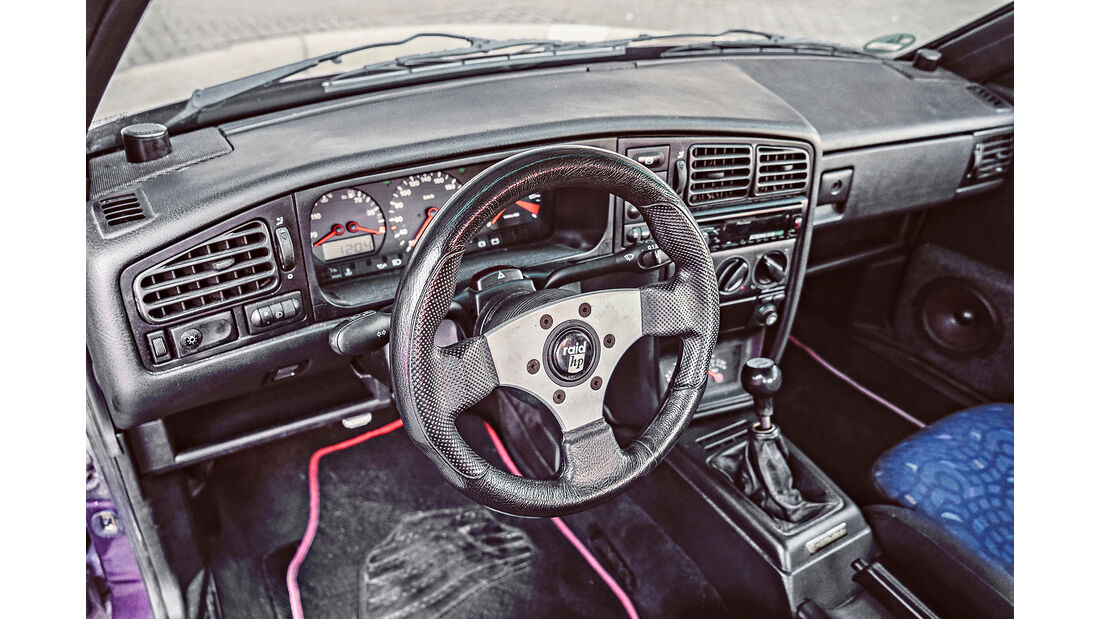 VW Corrado, Interieur