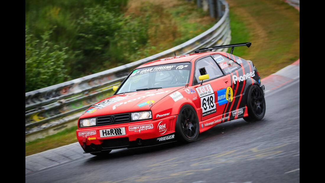 VW Corrado - Startnummer #618 - H2 - VLN 2019 - Langstreckenmeisterschaft - Nürburgring - Nordschleife