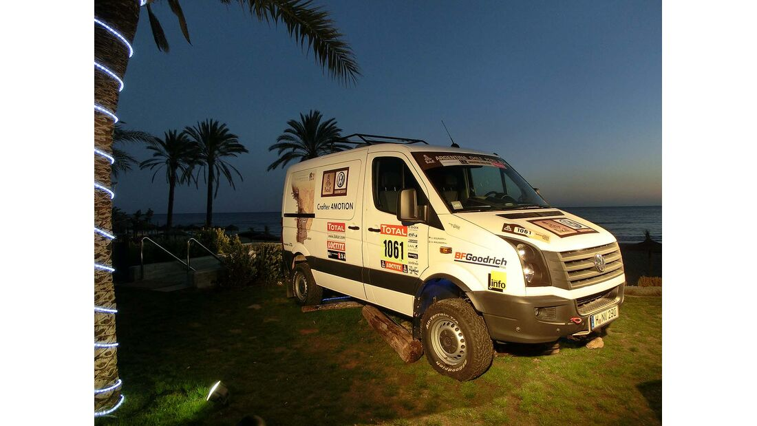 VW Crafter 4Motion