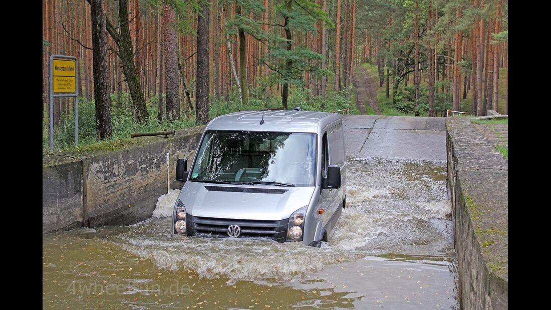 VW Crafter 4Motion 4x4 Achleitner Supertest