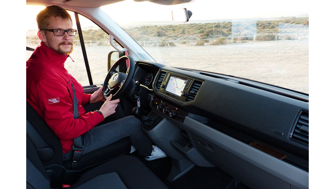 VW Crafter, Innenraum, Cockpit