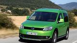 VW Cross Caddy 2.0 TDI DSG 4 Motion, Frontansicht