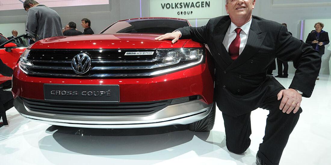 VW Cross Coupé Genf 2012 Martin winterkorn