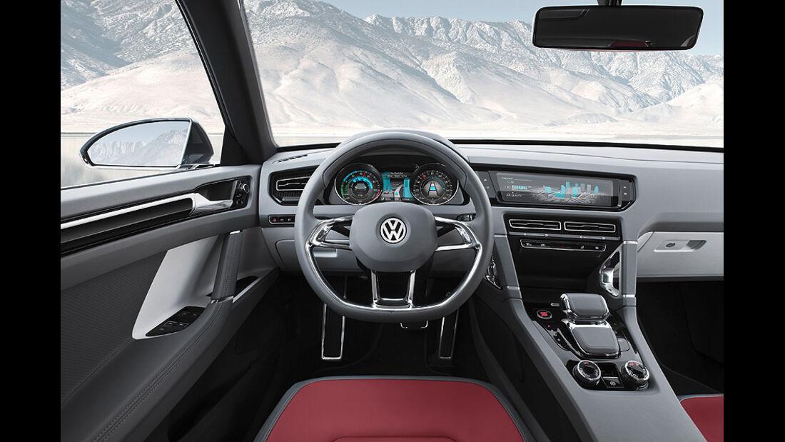 VW Cross Coupé, Innenraum, Cokpit