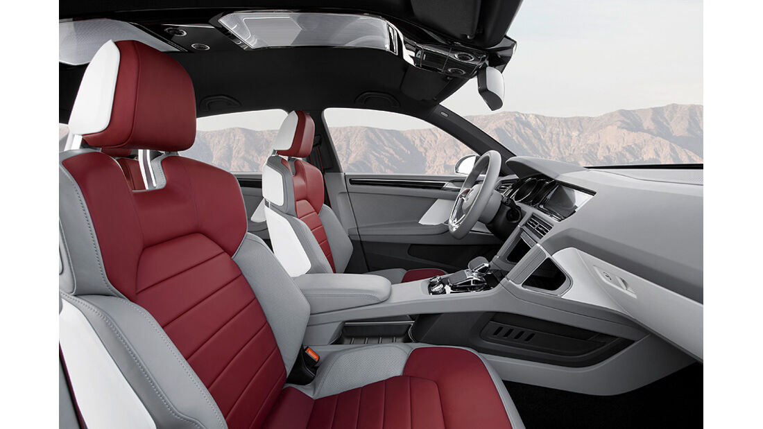 VW Cross Coupé, Innenraum, Sitze