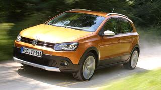 VW Cross Polo 1.2 TSI, Frontansicht