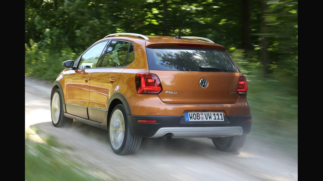 VW Cross Polo 1.2 TSI, Heckansicht