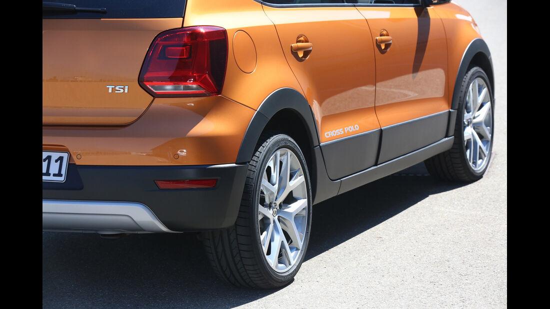 VW Cross Polo 1.2 TSI, Heckleuchte