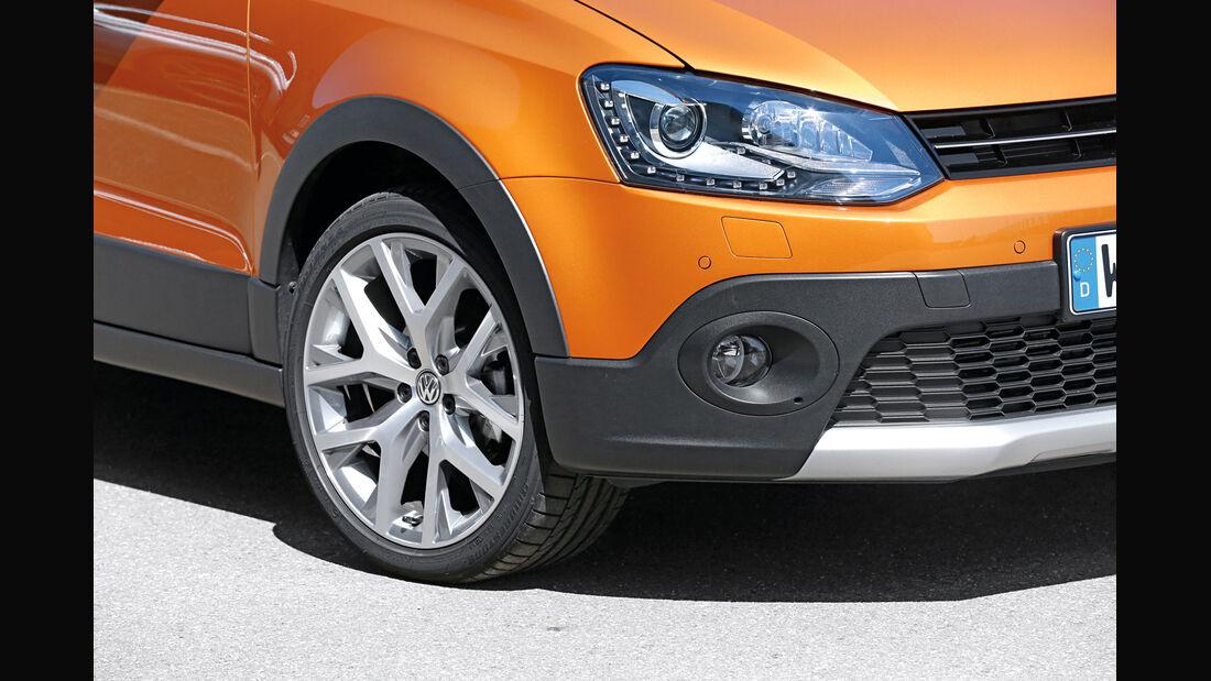 VW Cross Polo 1.2 TSI, Rad, Felge