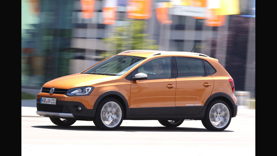 VW Cross Polo 1.2 TSI, Seitenansicht