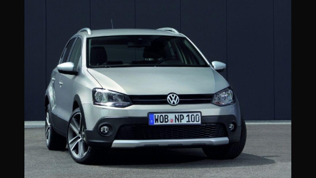 VW Cross Polo: Über Stöckchen und Steinchen