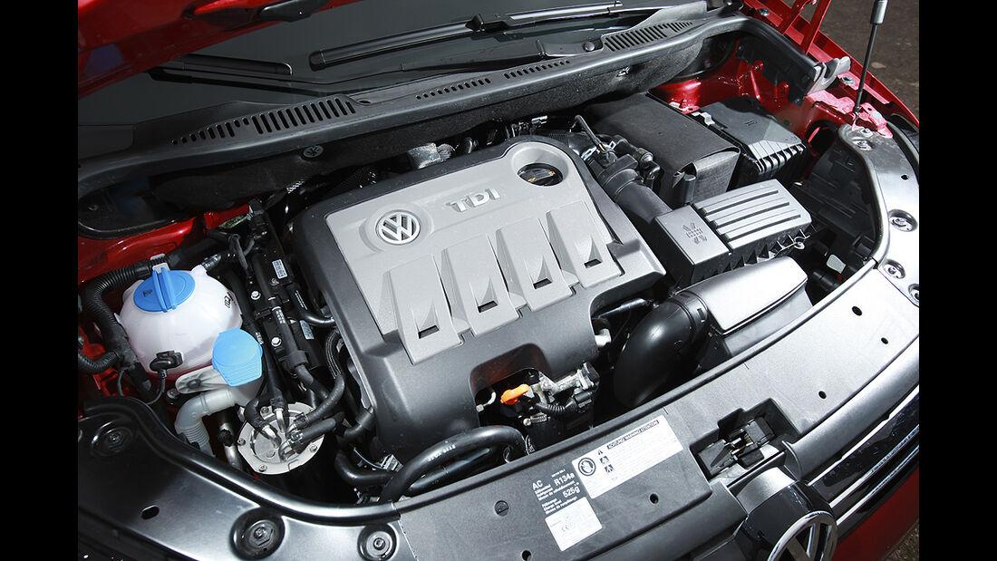 VW Cross Touran, Motor