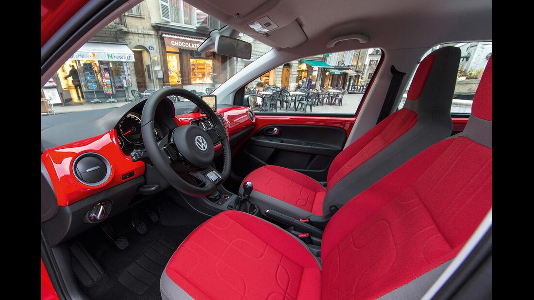 VW Cross Up 1.0, Cockpit, Sitze