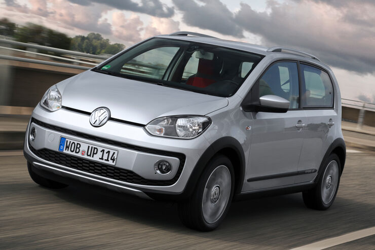 VW Cross Up 1.0, Frontansicht