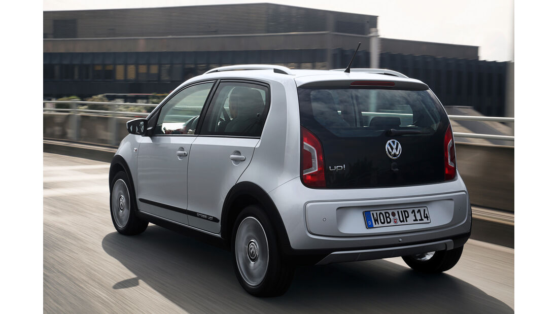 VW Cross Up 1.0, Heckansicht