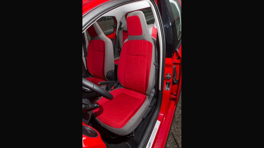 VW Cross Up, Fahrersitz