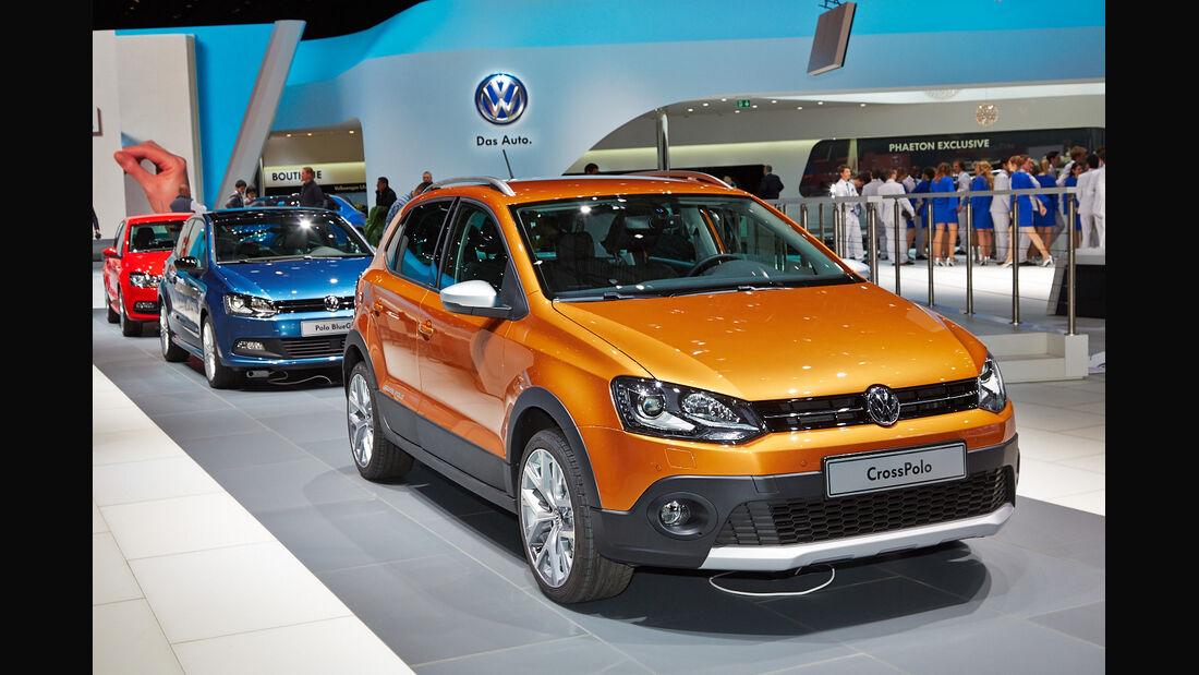 VW CrossPolo, Polo Cross, Genfer Autosalon, Messe 2014