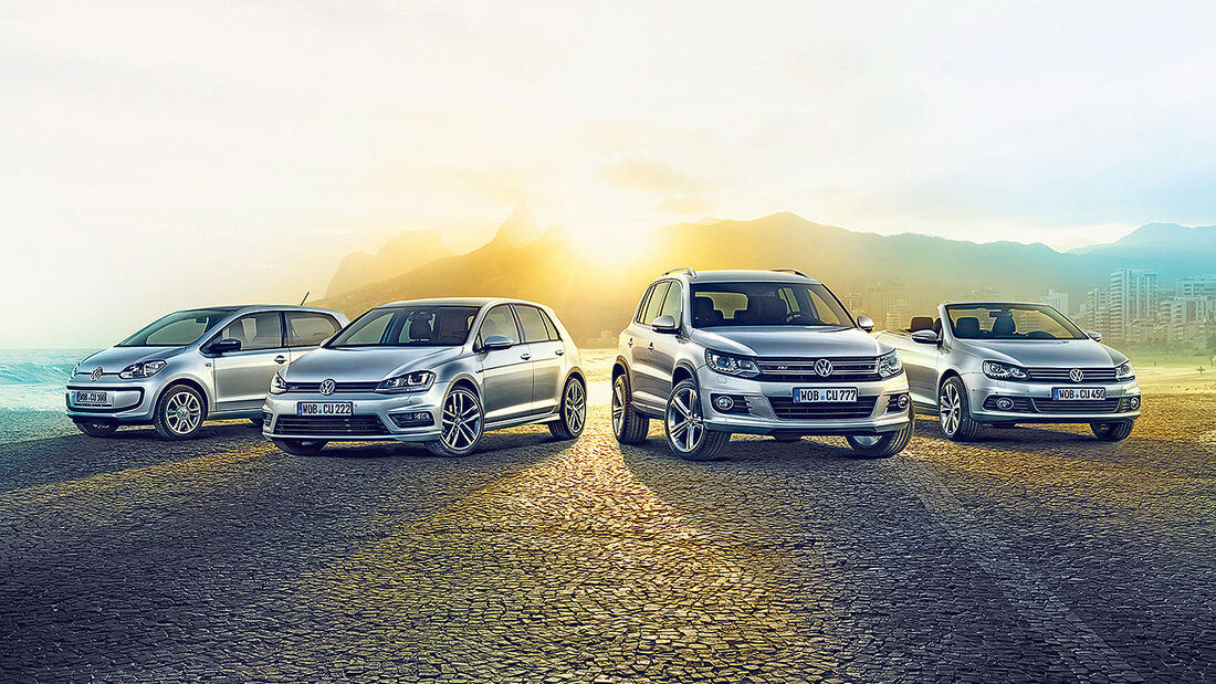VW Cup Sondermodelle