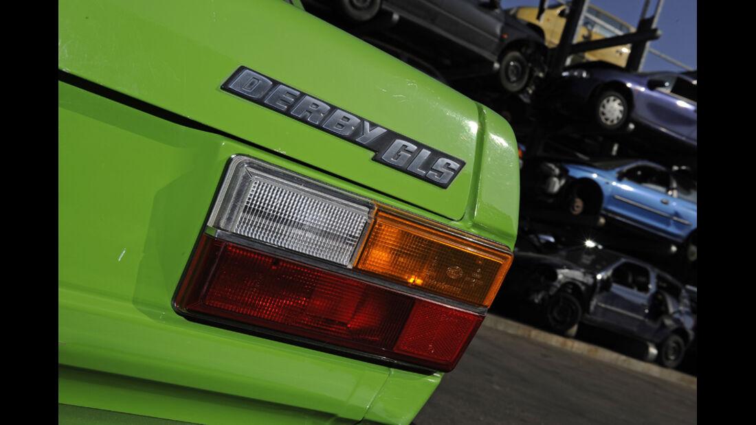 VW Derby, GLS, Emblem