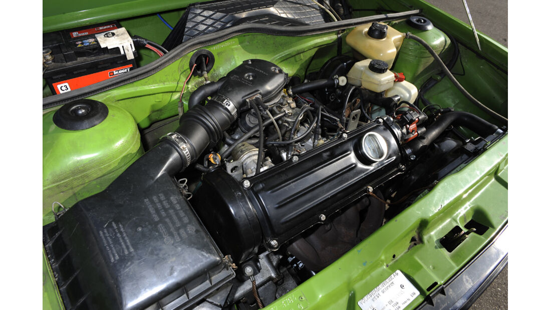VW Derby, GLS, Motor