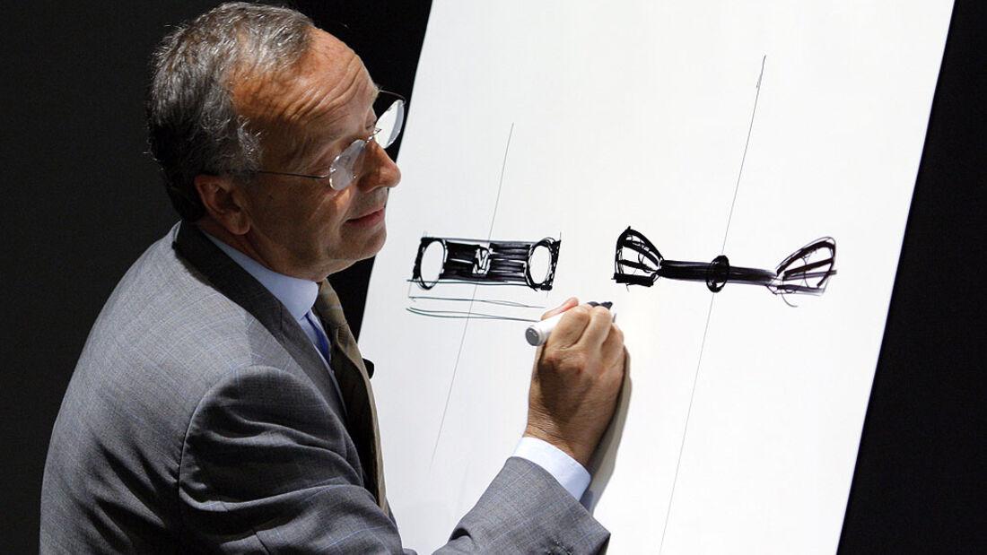 VW-Designchef Walter de Silva
