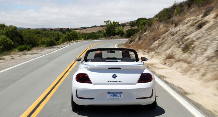 VW E-Bugster, Heckansicht