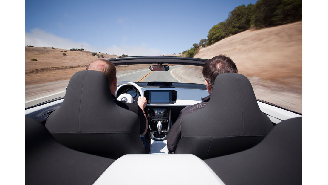 VW E-Bugster, Kopfstützen