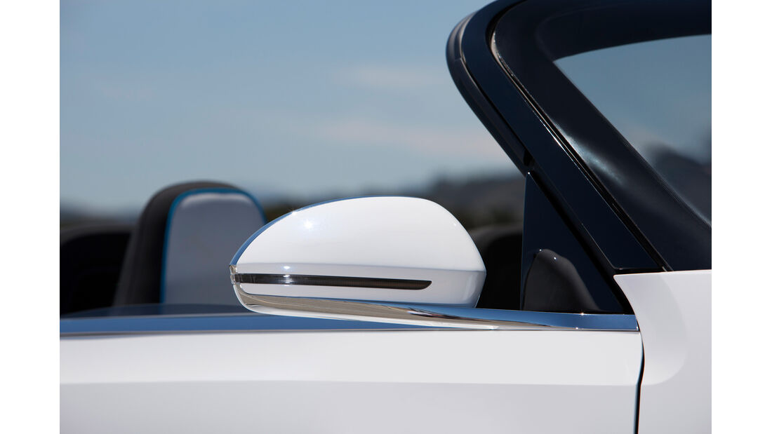 VW E-Bugster, Seitenspiegel