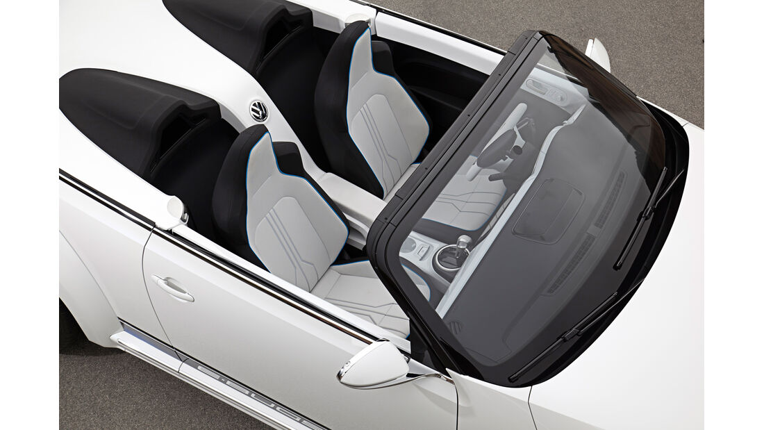 VW E-Bugster, Sitze, Innenraum