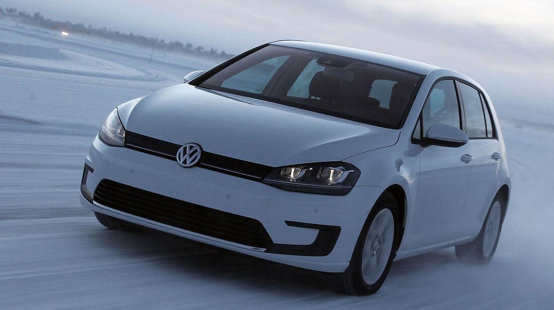 VW E-Golf, Elektroauto