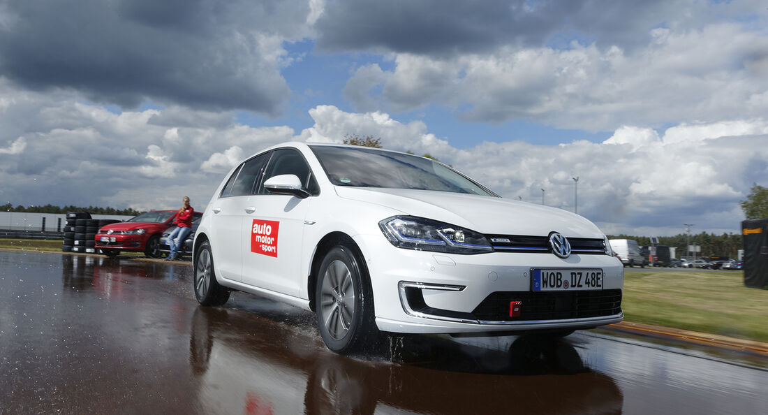 VW E-Golf , Exterieur