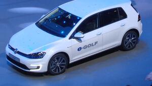 VW E-Golf, IAA