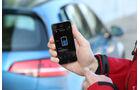 VW E-Golf, Smartphone, App
