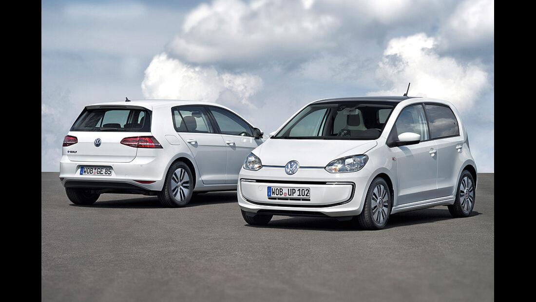 VW E-Golf, VW E-Up