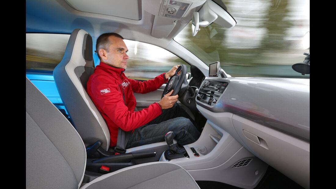 VW E-Up, Cockpit, Innenraum