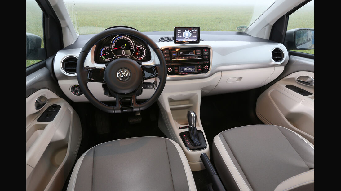VW E-Up, Cockpit