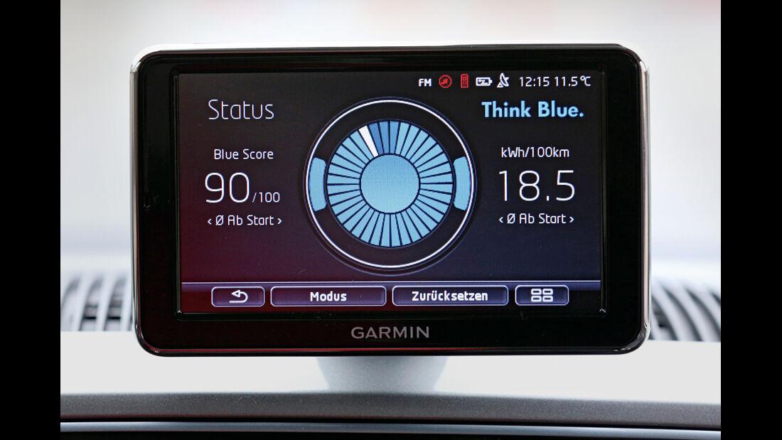 VW E-Up, Monitor, Sparen