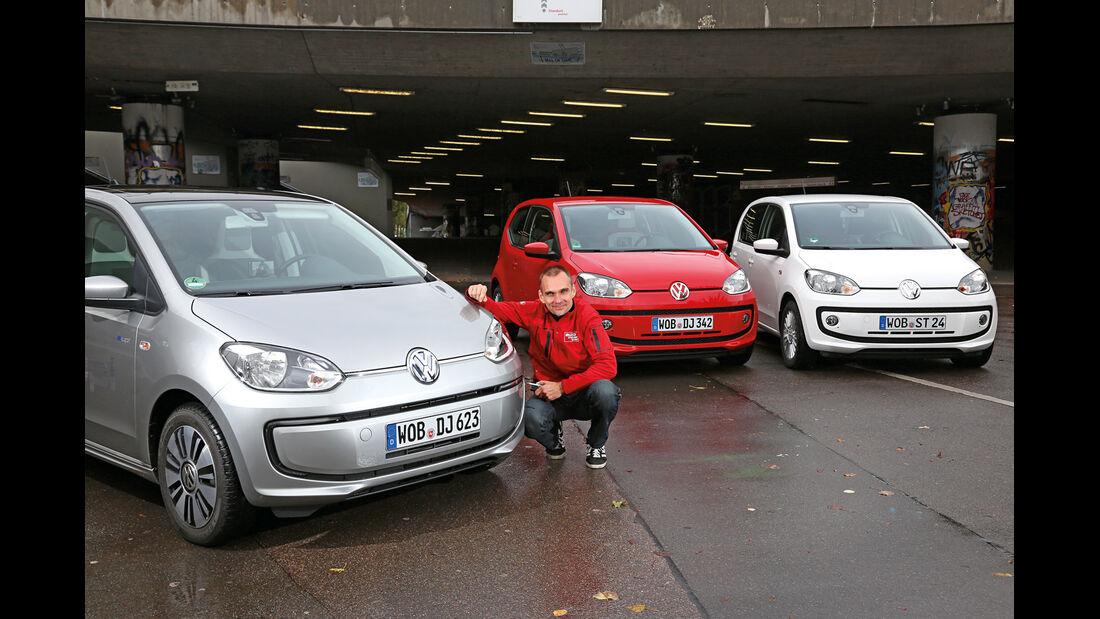 VW E-Up, VW Up, Modellvarianten