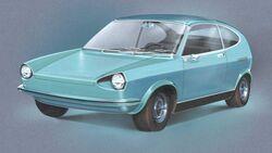 VW EA 266 Porsche Typ 1966 (1969)