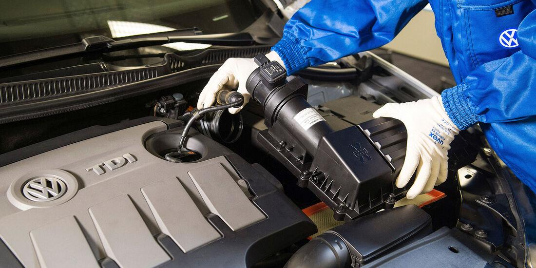 VW EA189 Nachrüstung Strömungsgleichrichter 1.6 TDI