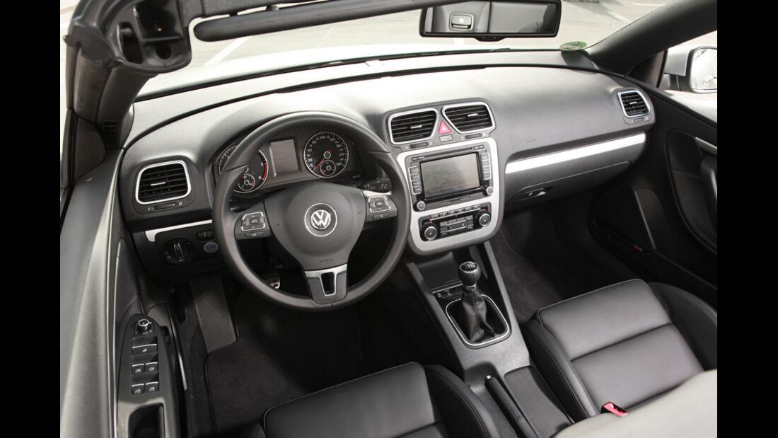 VW EOS 1.4 TSI, Cockpit
