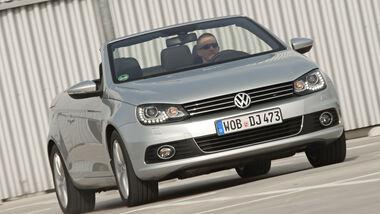 VW EOS 1.4 TSI, Frontansicht, Cabrio