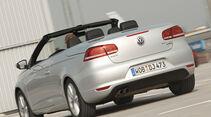 VW EOS 1.4 TSI, Rückansicht, Cabrio