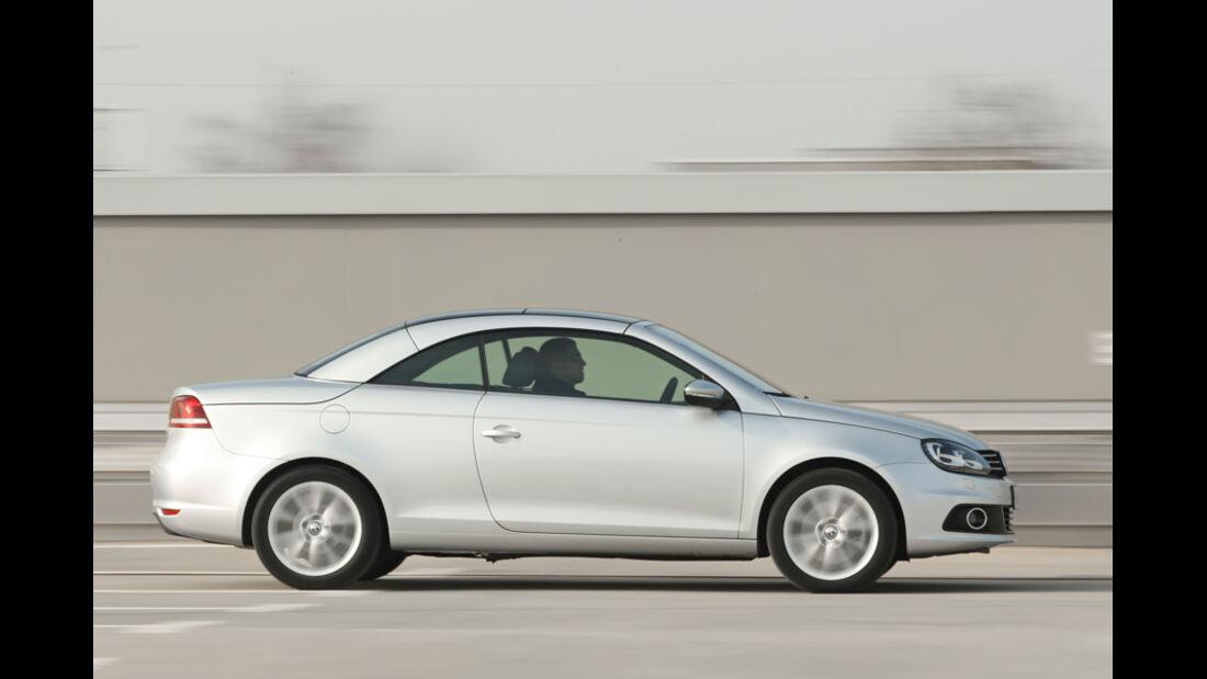 VW EOS 1.4 TSI, Seitenansicht, geschlossen