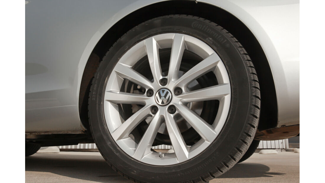 VW EOS 1.4 TSI, Vorderrad, Felge