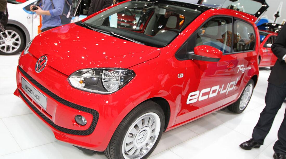 VW Eco Up Autosalon Genf 2012, Messe